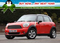 USED 2011 61 MINI COUNTRYMAN 1.6 Cooper D (Chili pack) ALL4 5dr Low Rate % Finance Options Available - Good Credit / Bad Credit