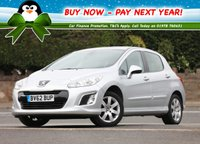 USED 2012 62 PEUGEOT 308 1.6 HDi Active 5dr Low Rate % Finance Options Available - Good Credit / Bad Credit