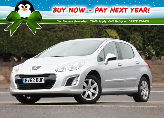 2012 62 PEUGEOT 308 1.6 HDi Active 5dr