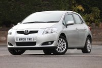 USED 2008 08 TOYOTA AURIS 1.6 VVT-i T3 5dr Low Rate % Finance Options Available - Good Credit / Bad Credit