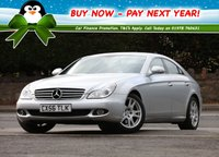USED 2006 56 MERCEDES-BENZ CLS 3.0 CLS320d CDI 7G-Tronic 4dr Low Rate % Finance Options Available - Good Credit / Bad Credit
