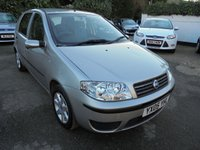 2005 FIAT PUNTO 1.2 16V DYNAMIC 5 DR HATCH £1295.00