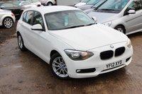 2012 BMW 1 SERIES 1.6 116D EFFICIENTDYNAMICS 5d 114 BHP £8980.00