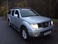 2009 NISSAN NAVARA 2.5 DCI TEKNA 4X4  PICK UP 169 BHP £11825.00