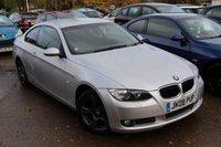 2008 BMW 3 SERIES 2.0 320I SE 2d 168 BHP £6940.00