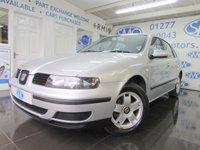 2002 SEAT LEON 1.6 S 5d 103 BHP £1395.00