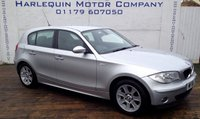2006 BMW 1 SERIES 2.0 118I SE 5d AUTO 128 BHP £3999.00