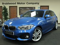 2015 BMW 1 SERIES 1.6 118I M SPORT 5d 134 BHP £17950.00