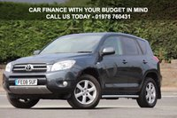 USED 2008 08 TOYOTA RAV4 2.0 XT-R 5dr Low Rate % Finance Options Available - Good Credit / Bad Credit