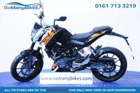 2015 KTM DUKE 125 DUKE 15 - 1 Owner bike £2995.00