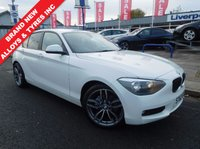 USED 2012 62 BMW 1 SERIES 1.6 116d EfficientDynamics Sports Hatch 5dr WAS £11995 SAVING!!! £1005