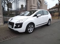 USED 2013 63 PEUGEOT 3008 1.6 HDI ACTIVE 5d 115 BHP *FINANCE ARRANGED*PART EXCHANGE WELCOME*CRUISE CONTROL*SERVICE HISTORY*6 SPEED*BLUETOOTH*