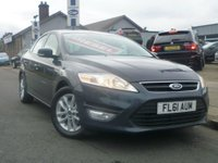 2011 FORD MONDEO 1.6 TDCi ECO Zetec 5dr (start/stop) £SOLD