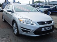2012 FORD MONDEO 1.6 TDCi ECO Edge 5dr (start/stop) £SOLD