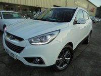 USED 2013 HYUNDAI IX35 1.7 SE CRDI 5d 114 BHP Low Rate Finance Available, Manufacturer Warranty, FSH