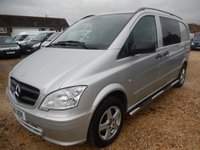 2011 MERCEDES-BENZ VITO  DUALINER COMPACT 2.1 CDi SILVER 73,374 MILES ONLY £12995.00