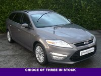 USED 2013 63 FORD MONDEO 2.0 ZETEC BUSINESS EDITION TDCI ESTATE 5d 140 BHP BLUETOOTH, SAT NAV
