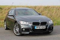2013 BMW 3 SERIES 3.0 330D XDRIVE M SPORT 4d AUTO 255 BHP £22695.00