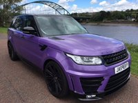 USED 2015 15 LAND ROVER RANGE ROVER SPORT 3.0 SDV6 HSE 5d AUTO 288 BHP **EVOLVED CONVERSION**