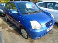 2005 KIA PICANTO 1.1 LX 5d 65 BHP £2999.00