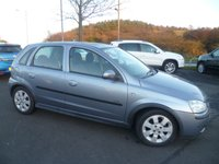 2004 VAUXHALL CORSA 1.2 SXI 16V 5d 75 BHP £850.00