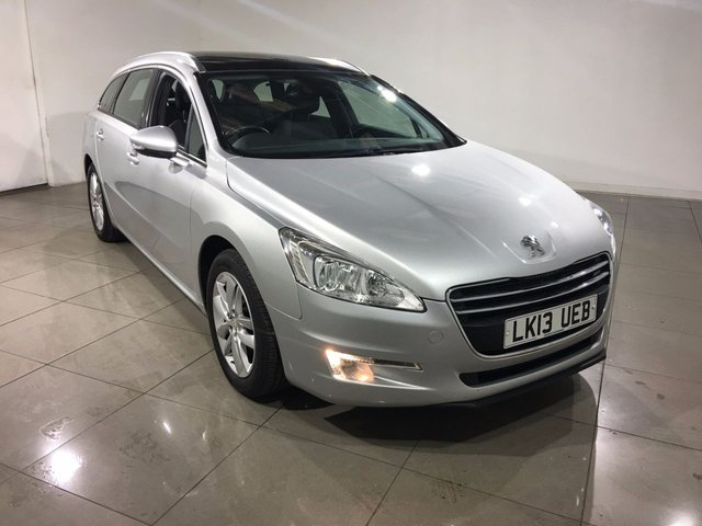 View our 2013 13 PEUGEOT 508 1.6 E-HDI SW ACTIVE 5d AUTO 115 BHP