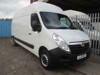 2012 VAUXHALL MOVANO F3500 L3H3 LWB High roof 2.3 CDTi 100 *ONE OWNER* £SOLD
