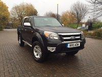 2011 FORD RANGER 2.5 XLT 4X4 DCB TDCI  143 BHP £10995.00