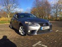 2014 LEXUS IS 2.5 300H SE 4d AUTO 220 BHP £15495.00