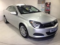 2007 VAUXHALL ASTRA 1.6 TWIN TOP 3d 100 BHP a Great Value Low Mileage Convertible £3250.00
