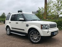 USED 2009 59 LAND ROVER DISCOVERY 3.0 SDV6 HSE AUTO ONE OWNER, LOW MILES