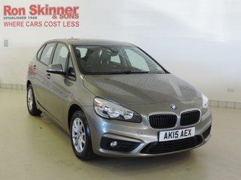 2015 BMW 2 SERIES 2.0 218D SE ACTIVE TOURER 5d 148 BHP £14999.00