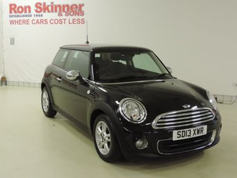 2013 MINI HATCH ONE 1.6 ONE 3d 98 BHP with Pepper Pack £7999.00