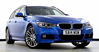 2014 BMW 3 SERIES 2.0 320d M Sport Touring xDrive 5dr Auto £19995.00