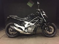 2010 SUZUKI SFV 650 GLADIUS. LOWERED. 2010. 7518. 2 LADY OWNERS. FSH.  £2999.00