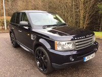USED 2007 57 LAND ROVER RANGE ROVER SPORT 2.7 TDV6 SPORT HSE 5d AUTO 188 BHP 22inch ALLOYS+PRIVACY