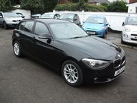 2013 BMW 1 SERIES 1.6 116D EFFICIENTDYNAMICS 5 DR £10250.00