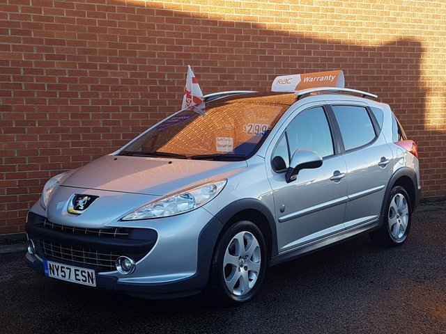 2008 57 PEUGEOT 207 1.6 SW OUTDOOR 5d 118 BHP ** GREAT SPEC **