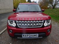 2014 LAND ROVER DISCOVERY 3.0 SDV6 HSE LUXURY 5d AUTO 255 BHP £36950.00