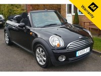 USED 2009 09 MINI CONVERTIBLE 1.6 COOPER 2d 120 BHP IMMACULATE CONDITION - GOOD SPECIFICATION - GREAT PRICE -  READY FOR SUMMER!