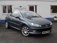 2006 PEUGEOT 206 1.6 ALLURE HDI COUPE CABRIOLET 2d 108 BHP £2295.00