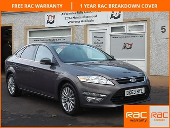 2013 FORD MONDEO 1.6 ZETEC BUSINESS EDITION TDCI S/S 5d 114 BHP £9250.00