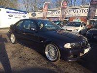 2002 BMW 3 SERIES 2.5 325CI SPORT 2d 190 BHP £2695.00