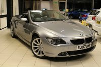 USED 2007 07 BMW 6 SERIES 3.0 630I SPORT 2d AUTO 255 BHP BMW SERVICE HISTORY + PRO NAV+TV FUNCTION+HEATED LEATHER+CRUISE+BLUETOOTH