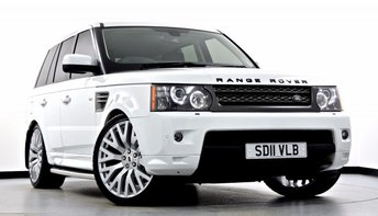 2011 LAND ROVER RANGE ROVER SPORT 3.0 TD V6 HSE 5dr Auto £26495.00