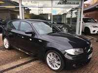 2007 BMW 1 SERIES 118D M SPORT 5d 141 BHP £6295.00