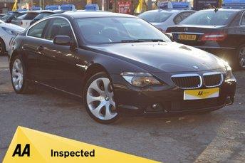 2005 BMW 6 SERIES 3.0 630I 2d 255 BHP £6980.00