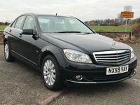USED 2009 59 MERCEDES-BENZ C CLASS 2.1 C250 CDI BLUEEFFICIENCY ELEGANCE AUTO FINISHED IN ZION BLACK WITH FULL CREAM LEATHER SEATS-16 INCH MULTI-SPOKE ALLOY WHEELS-STUNNING CONDITION-BUY NOW PAY FEB 2017-P/X WELCOME(CASH EITHER WAY) *** REF. KEY NUMBER 70 ***