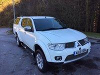 2013 MITSUBISHI L200 2.5 DI-D 4X4 BARBARIAN LB NO VAT PICK UP AUTO 175 BHP £16357.00