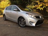USED 2014 64 TOYOTA VERSO 1.6 D-4D ICON 5d 110 BHP ONLY 26,000 MILES WITH FULL TOYOTA SERVICE HISTORY, BALANCE OF TOYOTA 5 YEAR MANUFACTURERS WARRANTY